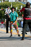 Jugglers Perform At Miami Holiday Parade Royalty Free Stock Image