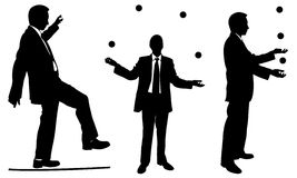Jugglers Stock Photos