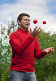Juggling Royalty Free Stock Photo