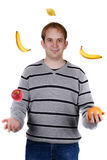 Juggling Royalty Free Stock Image