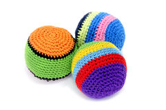 Juggling balls Royalty Free Stock Images