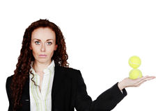 Juggling balls Royalty Free Stock Images
