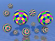 Juggling balls Stock Photography