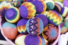Juggling balls. Detail to juggle balls, fun and games Royalty Free Stock Image