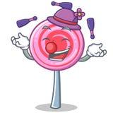 Juggling cute lollipop character cartoon. Vector illustration Royalty Free Stock Photos