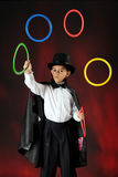 Juggling Magician Stock Photos