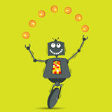 Juggling Robot Stock Photos