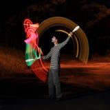 Juggling show Stock Photos