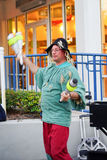 A juggling show Royalty Free Stock Image