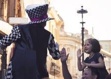Juglar que participa en el festival B-FIT en Fotos de archivo libres de regalías