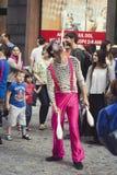 Juglar que participa en el festival B-FIT en Imagen de archivo