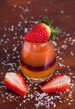 Jugo de fruta acodado Imagen de archivo
