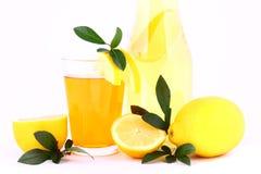 Jugo de limón Fotos de archivo libres de regalías