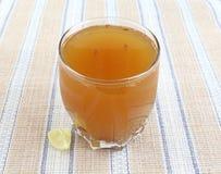 Jugo de limón Imagen de archivo
