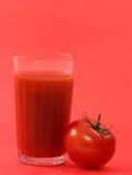 Jugo de tomate (1) Imágenes de archivo libres de regalías