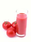 Jugo de tomate Fotografía de archivo