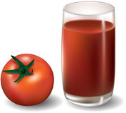 Jugo de tomate Libre Illustration
