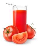 Jugo de tomate foto de archivo libre de regalías