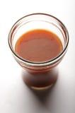 Jugo de tomate Fotografía de archivo libre de regalías