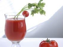 Jugo de tomate XII Imagenes de archivo