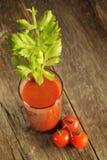 Jugo de tomates Foto de archivo libre de regalías
