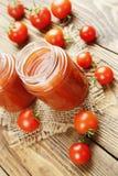 Jugo de tomates Fotos de archivo libres de regalías