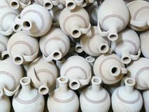 Jugs, Pottery, Fragile Royalty Free Stock Images