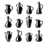 Jugs set. Vector Stock Photography