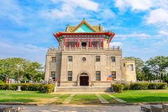 Juguang-Turm in Kinmen, Taiwan stockfotos