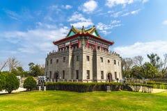 Juguang-Turm in Kinmen, Taiwan stockbild