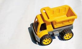 Juguete amarillo del carro Foto de archivo libre de regalías