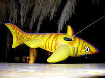 Juguete artificial del tiburón imagen de archivo libre de regalías
