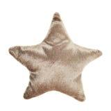 Juguete asteroide marrón de la almohada de la felpa Fotos de archivo