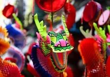 Juguete chino del dragón Foto de archivo libre de regalías