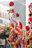 Juguete chino del dragón Imagenes de archivo