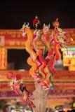 Juguete chino del papel del dragón Fotos de archivo