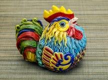 Juguete chino, que representa el año 2017, año del gallo Imágenes de archivo libres de regalías