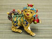 Juguete chino, que representa el año 2018, año del perro Fotografía de archivo libre de regalías