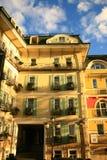 Juguete-ciudad Imagen de archivo libre de regalías