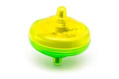 Juguete coloreado del top de giro Imagen de archivo