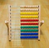 Juguete colorido del ábaco para los niños Foto de archivo libre de regalías