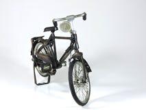 Juguete de acero de la bicicleta Imagen de archivo