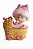 Juguete de cerámica del coche de bebé Imagen de archivo libre de regalías