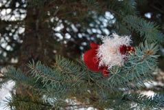 Juguete de Cristmas en el árbol Fotografía de archivo