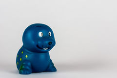 Juguete de goma bajo la forma de sello Imagenes de archivo