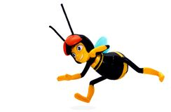 Juguete de la abeja Fotos de archivo libres de regalías