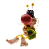 Juguete de la abeja Imagen de archivo libre de regalías