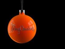 Juguete de la decoración de la Navidad Fotografía de archivo