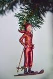 Juguete de la decoración del Año Nuevo Foto de archivo libre de regalías