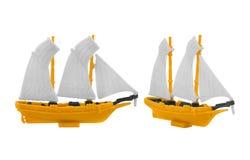 Juguete de la nave Foto de archivo libre de regalías